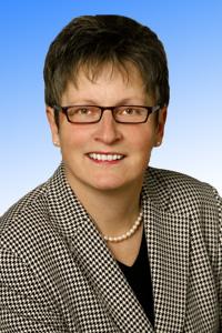 Portraitfoto von Landrätin Läsch-Weber.