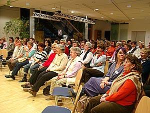 Foto vom Publikum des Frauentags