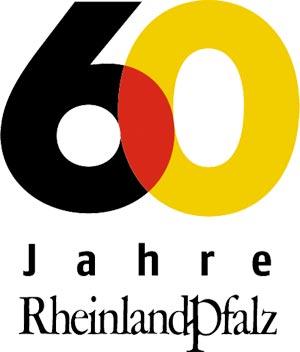 Logo 60 Jahre Rheinland-Pfalz
