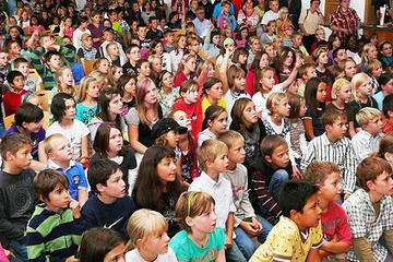 Über 400 Kinder und Jugendliche nahmen an der Lesesommer-Abschlussparty in Wittlich teil.