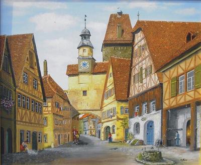 Ölgemälde von Matthias Faas aus Wittlich-Lüxem.