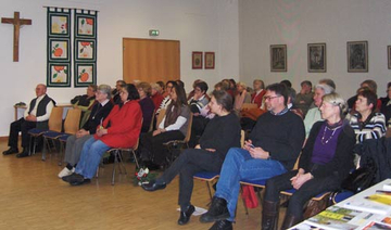 Bild der Zuhörer der Veranstaltung.