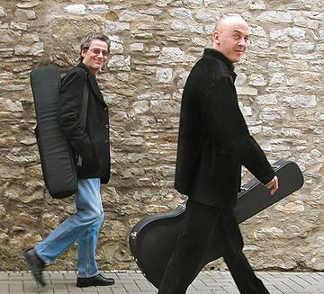 Stephan Völpel und Johnny Weber von Groove Improve