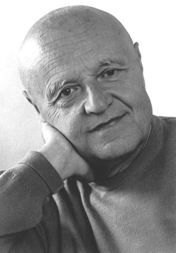 Portraitaufnahme von Harald Genzmer