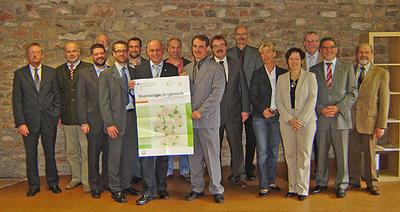 Die Lenkungsgruppe der Bioenergieregion Eifel freut sich auf eine erfolgreiche und konstruktive Arbeit.